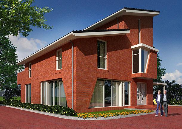 3d villa visualisatie snel kwalitatief betaalbaar - Huis exterieur model ...