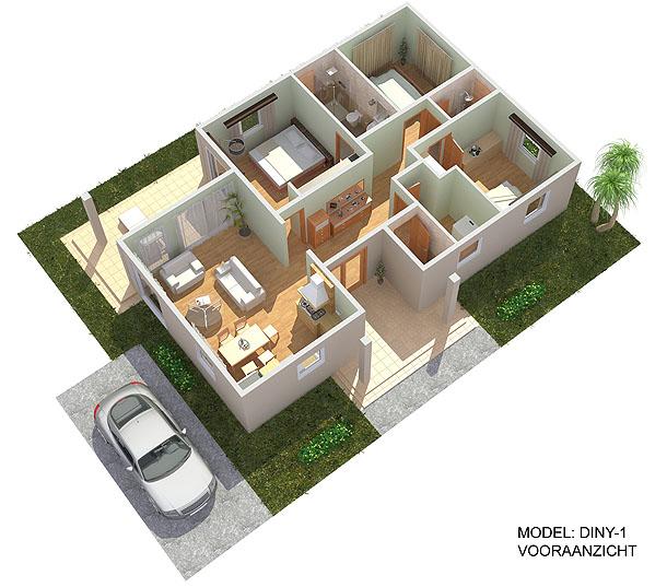 3d plattegrond van uw toekomstig huis snel kwalitatief for 3d keuken tekenprogramma