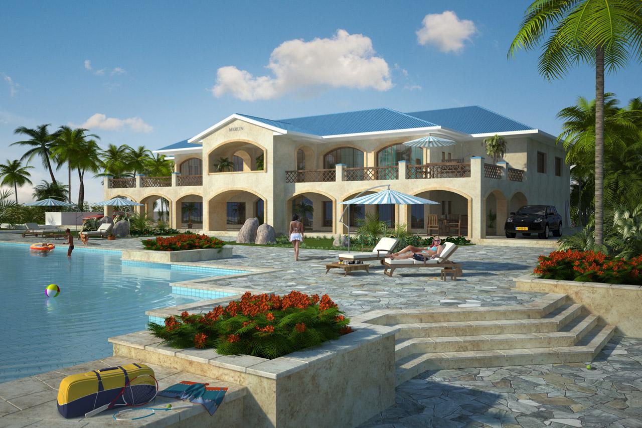 3d villa visualisatie snel kwalitatief betaalbaar - Mooi huis ...